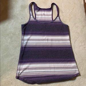 LuluLemon Racerback Purple Heather Grey Tank